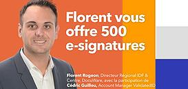 500 e-signatures offertes : comment bien les utiliser?
