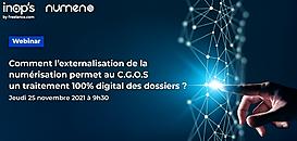 Comment l'externalisation de la numérisation des dossiers permet au C.G.O.S un traitement 100% digital ?